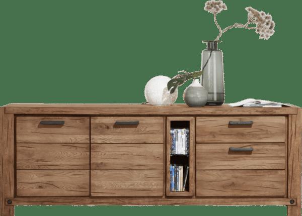 Buffet bois finition foncé H&H chez Infiny Home