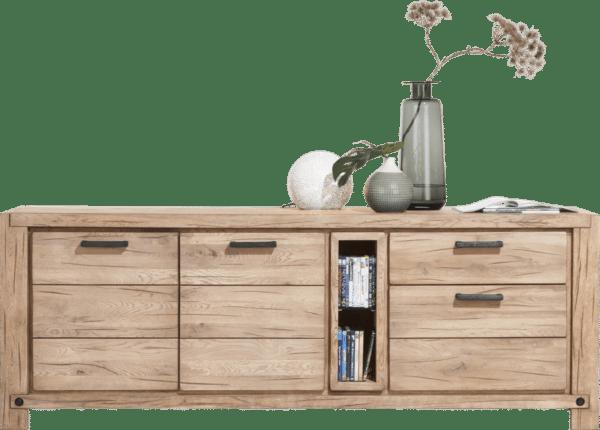 Buffet bois finition naturelle H&H chez Infiny Home