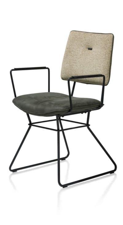 Chaise OTIS avec accoudoirs H&H chez Infiny Home