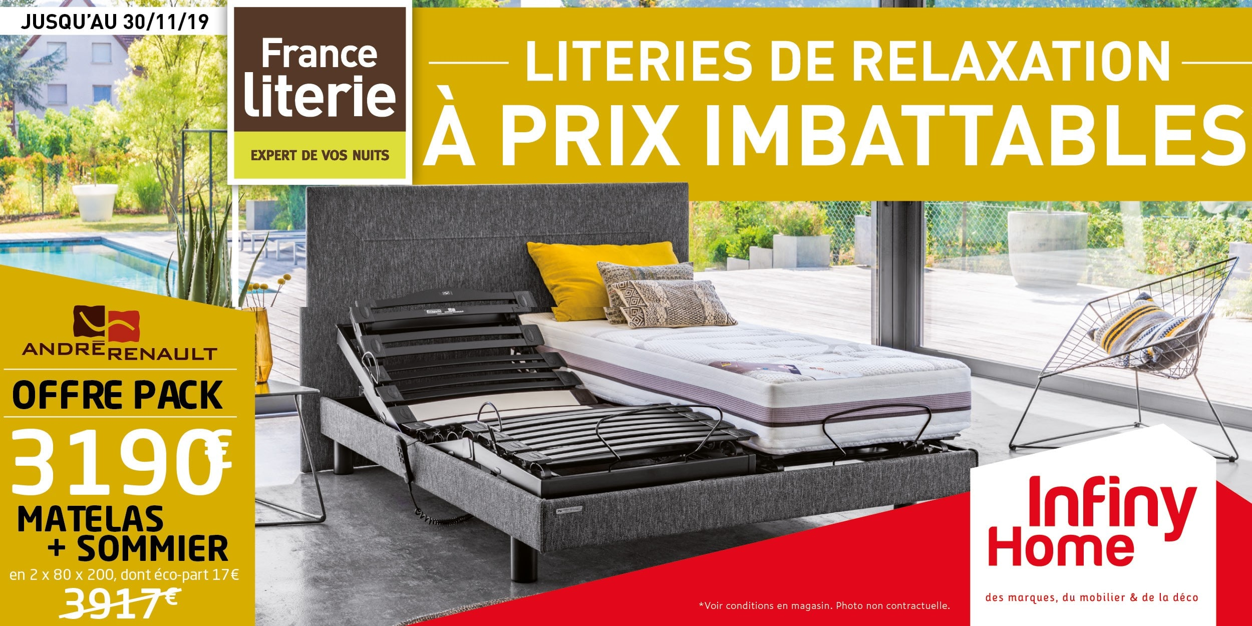 France Literie relaxation à prix imbattables