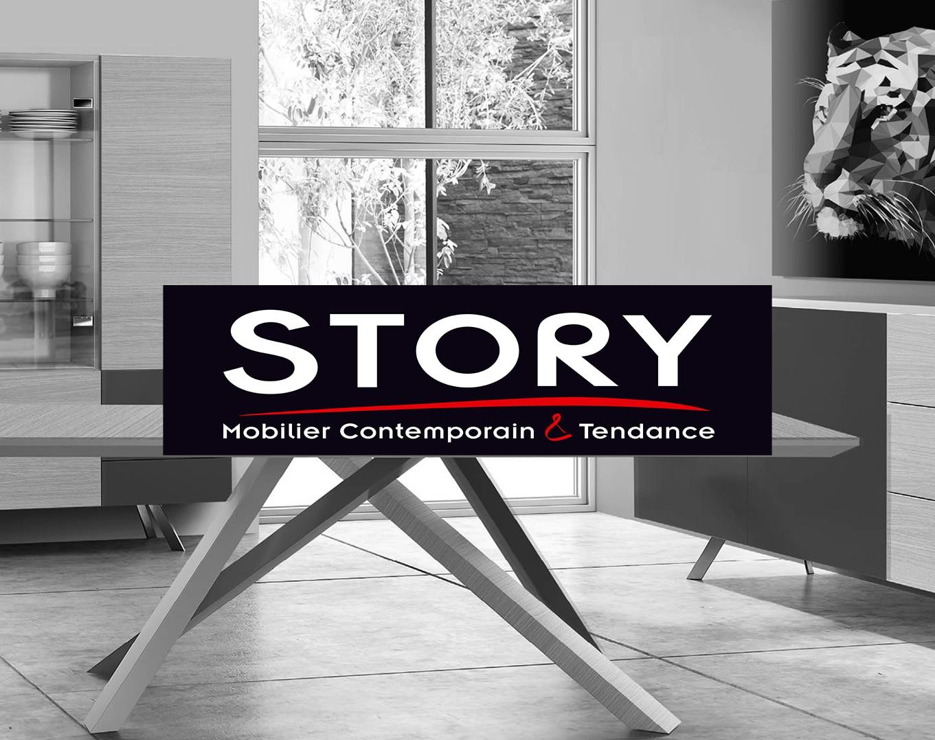 STORY mobilier contemporain et tendance chez Infiny Home