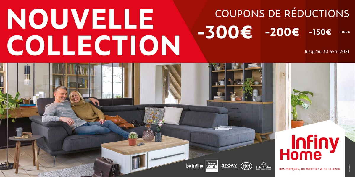 Nouvelle collection 2021 Infiny Home