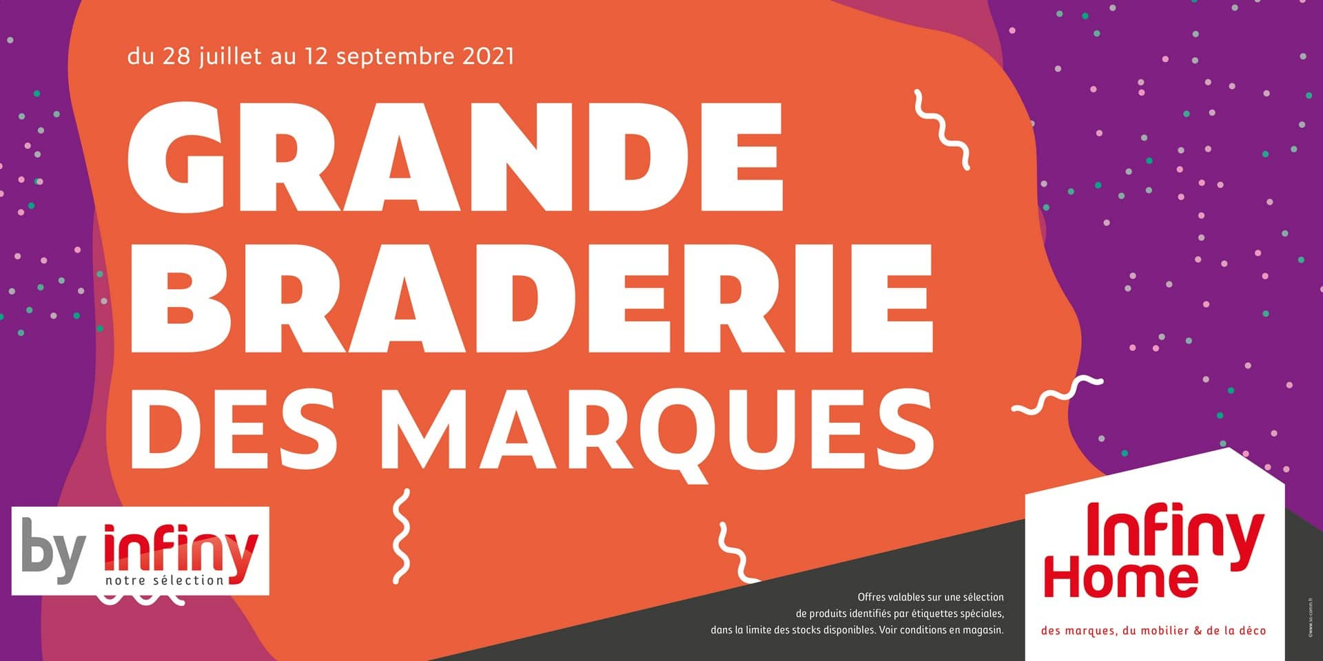 Grande Braderie des marques By Infiny