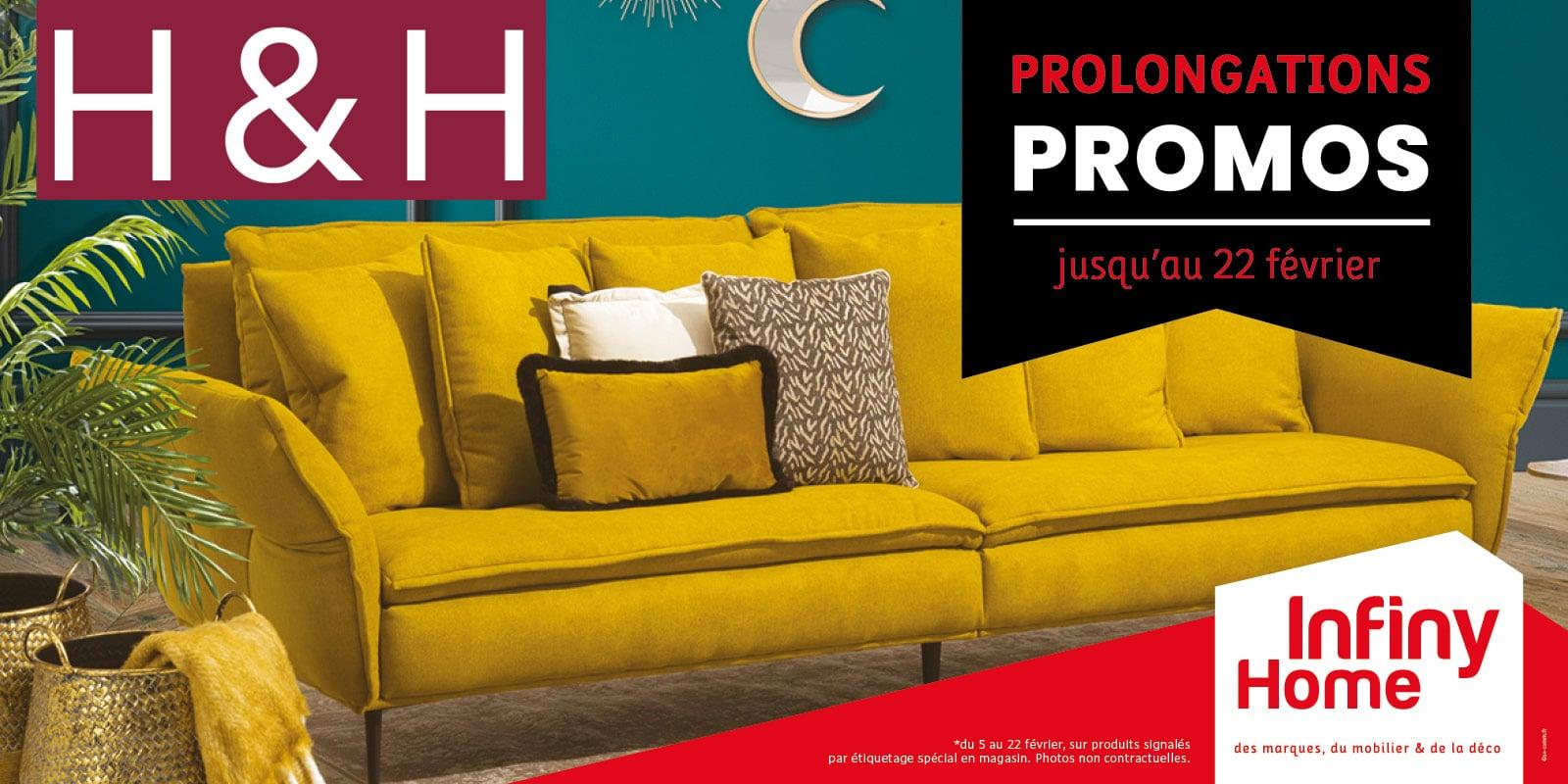 prolongation promos H&H