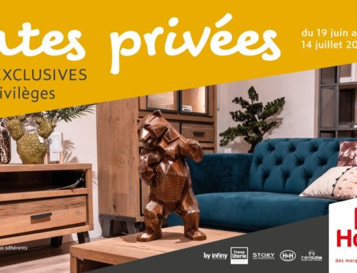 Ventes privées Infiny Home et offres Exclusives