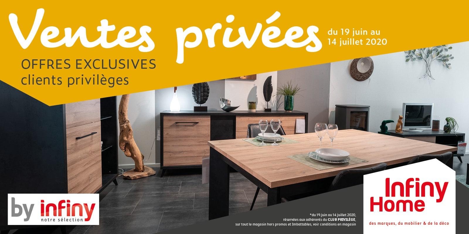 ventes privées By Infiny